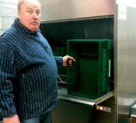 Kistenwaschmaschine Winterhalter