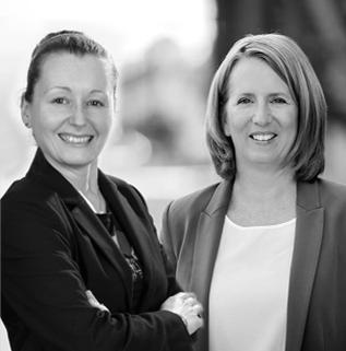 Ute Röntzsch und Christine Heydorn