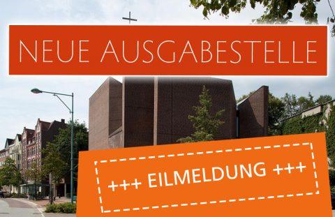 Kieler Tafel - neue Ausgabestelle im Gemeindehaus der St. Lukaskirche