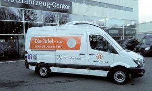 Der neue Mercedes Sprinter der Kieler Tafel